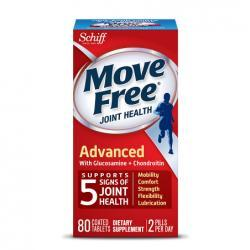 Schiff Move Free Advanced Triple Strength Glucosamine Chondroitin, Coated Tablets80.0 ea