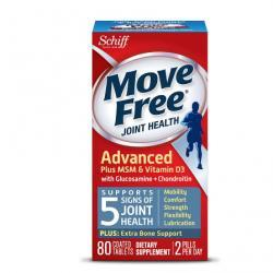 Schiff Move Free Joint Health Glucosamine Chondroitin Plus MSM & Vitamin D3, Tablets80.0 ea