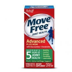 Schiff Move Free Bone & Joint Supplement, Glucosamine Chondroitin + MSM, Tablets120.0 ea