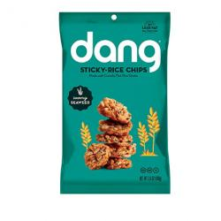 Dang Sticky Rice Chips, Seaweed, 4 Count