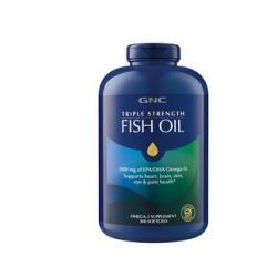 GNC TRIPLE STRENGTH FISH OIL 360 Softgels