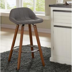 Anka Upholstered Counter Stools, Set of 2