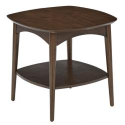 Copenhagen Accent Table In Walnut Finish