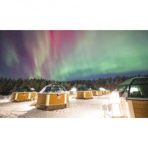 6天芬蘭之旅 含 機票 酒店 導遊 入住冰雪玻璃屋@Groupon