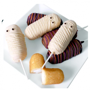 DYLAN'S CANDY BAR HALLOWEEN CHOCOLATE-DIPPED TWINKIES - SIX