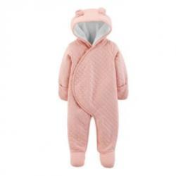 Quilted Heather Hooded Bunting