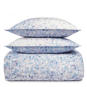 Sky Confetti Floral Duvet Cover Set, Twin
