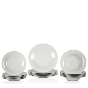 Villeroy & Boch New Cottage 18-Piece Dinnerware Catering Set