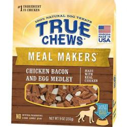 True Chews Meal Makers Chicken Bacon and Egg Medley Dog Treat, 9 oz.