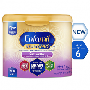 Enfamil NeuroPro Gentlease Infant Formula - Clinically Proven to reduce fussiness, gas, crying in