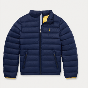 Big boys Packable Quilted Down Jacket