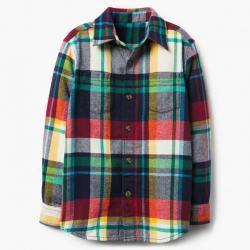 Gymboree Plaid Flannel Shirt