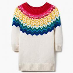 Gymboree Fair Isle Rainbow Sweater