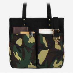 [모노노] MONONO - 6 Pocket 3 Way Bag Wax Canvas Camouflage 카모플라쥬 슈퍼옥스포드 숄더백 토트백