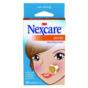 Nexcare Acne Cover, Drug-Free, Gentle, Breathable Cover, 36 Count @ Amazon