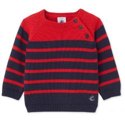 Petit Bateau BABY BOYS KNITTED PULLOVER