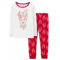 OshKosh Snug Fit Reindeer Cotton PJs
