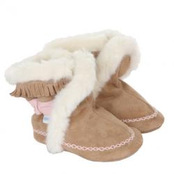 Robeez Fab Folk Boots Soft Soles