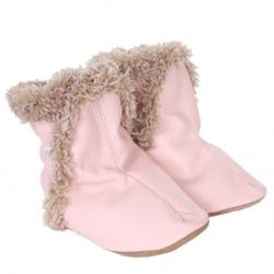 Robeez Classic Boots Pink Soft Soles