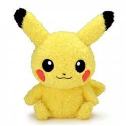 Pokemon Pikachu fluffy plush/ 671160 /Pokemon GO /Sekiguchi