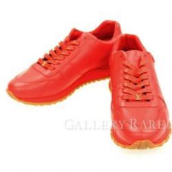 Louis Vuitton Sneaker Supreme Limited Leather Red Italy Authentic 4189732