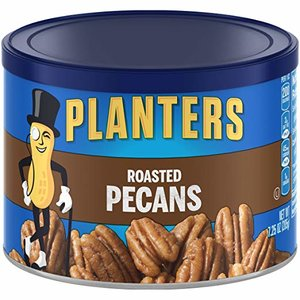 $5.68 Planters Pecans, Roasted Salted 7.25 Ounce @ Amazon.com