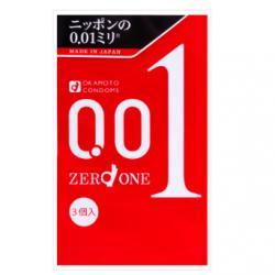 Japan OKAMOTO 0.01 Condoms 3pc