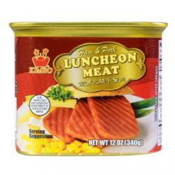 KIMBO Ham and Pork Luncheon Meat 340g USDA Certified
