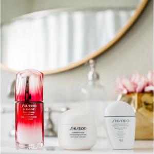 Получить бесплатный подарок каждый день при покупке $75+ @ Shiseido