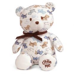 Gund Puppy-Print Teddy Bear - Ages 0+