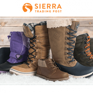 Sierra Trading Post - Winter Boots for Families from $49.99