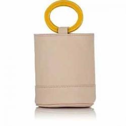 SIMON MILLER Bonsai Leather Bucket Bag