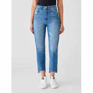 Susie High Rise Tapered Straight