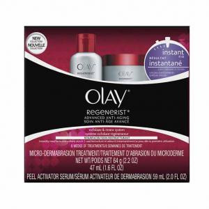 Olay Regenerist Instant Fix Exfoliate & Renew Treatment System 1.0 ea