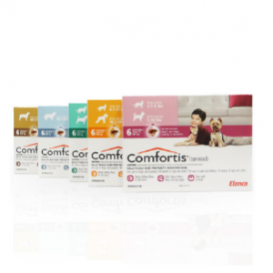 Comfortis Chewable Tablets for Dogs and Cats