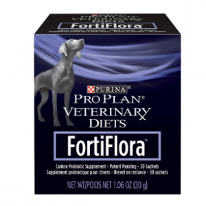 Purina Pro Plan Veterinary Diets FortiFlora Dog Supplement, Box of 30