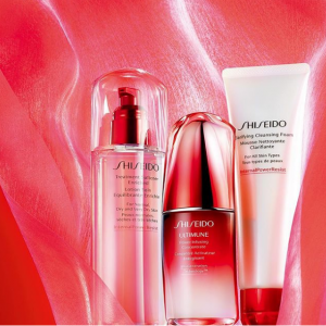 Last Day! Shiseido Sitewide Sale