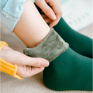 Winter Wamer Women Thicken Thermal Wool Cashmere Snow Socks