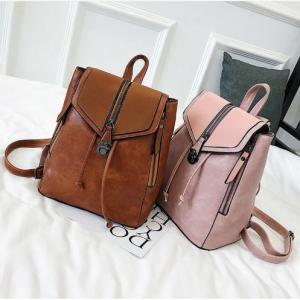 Vintage Matte Leather Women Backpacks High Quality Multifunctional Shoulder Bag