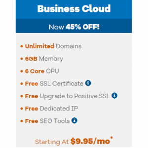 Business Cloud from $9.95
