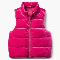 Gymboree Velvet Puffer Vest