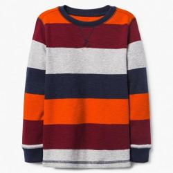 Gymboree Colorblock Thermal Tee