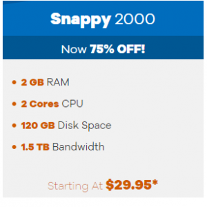 Snappy 2000 from $29.95