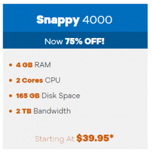 Snappy 4000 from $39.95