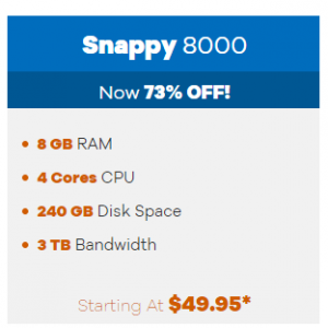 Snappy 8000 from $549.95