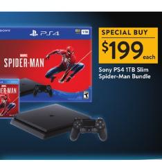 Sony PS4 1TBが12,000円オフ!史上最安$199 約22,648円 | ウォルマート(Walmart )