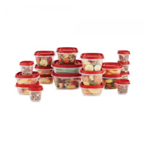 Black Friday - Rubbermaid Easy Find Vented Lids Food Storage Containers for $7 @Walmart