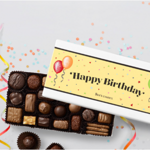From $7.75 Birthday Gifts Chocolates @ See's Candies