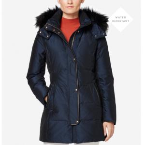 Silk Down Short Coat