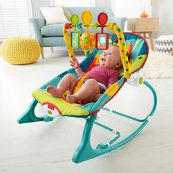 Fisher-Price Infant-to-Toddler 로커, 다크 사파리